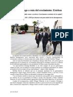 16.10.2013 Comunicado Entra Durango a Ruta Del Crecimiento Esteban