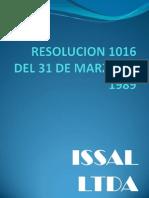 Semana 2 Resolucion 1016 Del 31 de Marzo de 1989