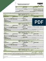 Formulario Actualización de Datos