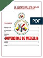 Convenios Nacionales.