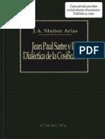123912614 Arias Munoz Jean Paul Sartre Y La Dialectica de La Cosificacion
