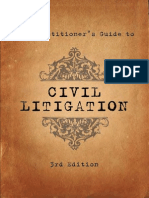 The Practitioner's Guide to Civil Litigation