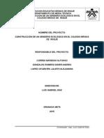 Proyecto Del Senderismo 2015