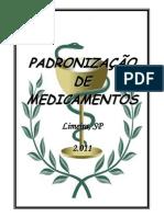 Padronizacao Medicamentos 2011