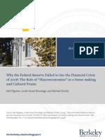 Why Fed Failed