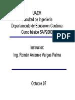 MANUAL SAP 2000 -01