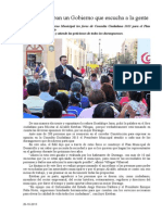 26.10.2013 Comunicaod Ofrece Esteban Un Gobierno Que Escucha a La Gente
