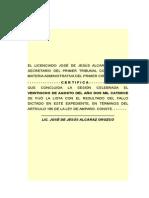 Sentencia Amparo Directo Impedimento juicio federal administrativo marca patente