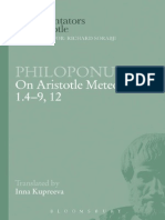 Kupreeva - Philoponus, On Aristotle Meteorology 1.4-9, 12