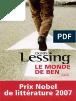 Doris Lessing - Le Monde de Ben