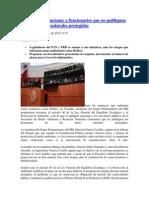 10-09-15 PRI propone sancionar a funcionarios que no publiquen planes en áreas naturales protegidas