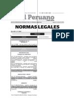 Ley 298-2013-MINAM