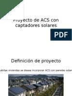 Proyecto de ACS Con Captadores Solares