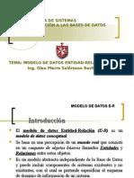 Modelo de datos DER