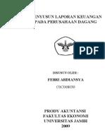 penyususunan laporan keuangan