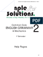 grammar help grade 2
