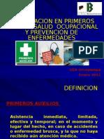 11. Salud Ocupacional y Primeros Auxilios.ppt