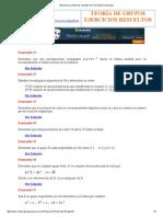 Ejercicios y problemas resueltos de Teoría básica de grupos SSS.pdf