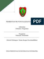 Adendum Dokumen Lelang (PM2L Desa Pandawei)