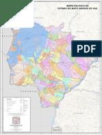 Mato Grosso Do Sul_politico_2015