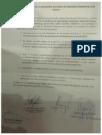 Declaración  VI Encuentro Nacional de Gobiernos Autónomos Municipales