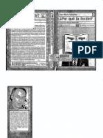 Schaeffer Jean-Marie, Por qué ficción