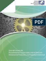 06 - Guía de Usuario de Procedimientos Sustanciados ante ls DDPPI.pdf