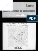 Monográfico del Karst de Udías