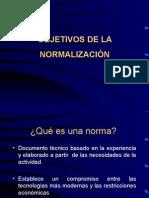Objetivos NORMALIZACION_008[1].ppt