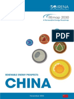 IRENA REmap China Report 2014