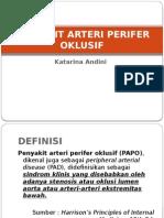 Penyakit Arteri Perifer Oklusif