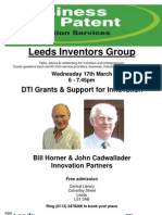 Leeds Inventors Group 17th March 2010