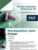 Slide07 Gambaran Umum Metode Penarikan Contoh