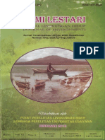 Zainal Alim - Bumi Lestari (Jurnal Lingkungan Hidup)
