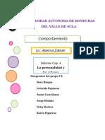 Informe Organizacional Cap 4