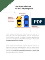 La mejor forma de estacionarse paralelamente en 5 simples pasos.doc