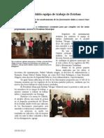 03.09.2013 Comunicado Avala Cabildo Equipo de Trabajo de Esteban