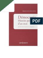 Démocratie, histoire politique d'un mot.pdf