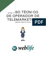 Apostila - Operador de Telemarketing