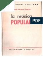 introducción a cuba, la Música Popular Cuba