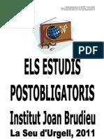 BTX-CF Orientació Estudis Postobligatoris Llibret