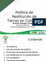Presentación Conferencia Ricardo Sabogal Urrego - Colombia (Urt)
