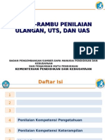 3.1 Rambu-rambu Ulangan, UTS, UAS (UJI)