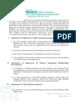 cob rules draft v12