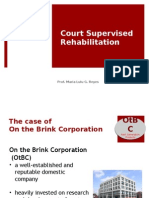 Court Supervised Rehabilitation 1 2