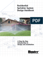 Sprinkler systems design