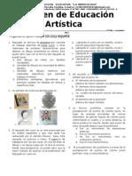 7°Examen de artistica