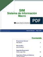 Macroconsult Mayo 2012