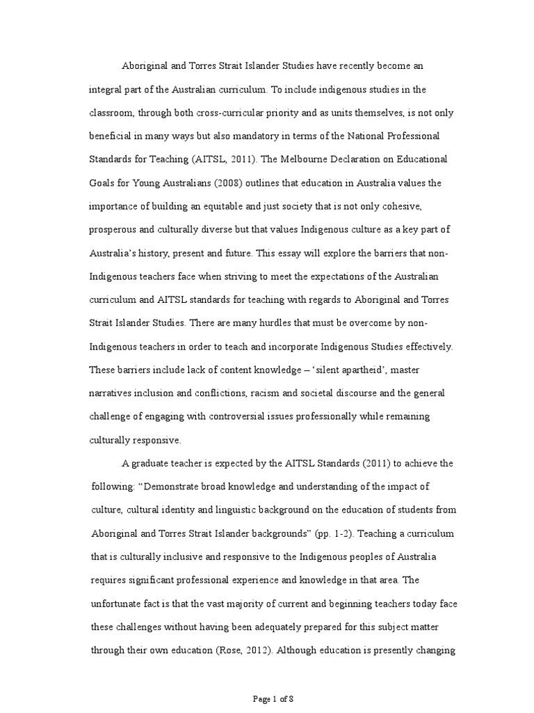 australian identity essay