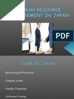 HRM in Japan